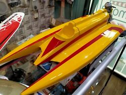 Rc Boat Hydroplane Competition Nitro Boat With Os Max 21 Xm