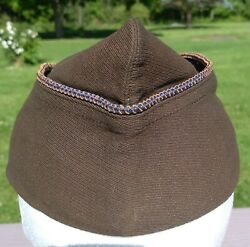 Scarce 1920's Or 30's Air Corps Officer's Garrison Hat Overseas Hat Wwii Ww2