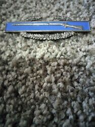 Us Army Combat Infantry Badge Sterling Silver