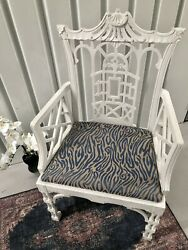 saleantique Chinese Chippendale Fretwork Chair Chinoiserie