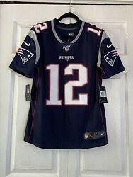 Authentic 2019 Tom Brady Nike Limited Jersey Mens Size M Last Year On Pats