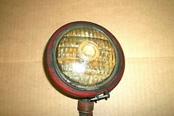 Vintage Guide 4-5/8 Sealed Tractor Lamp Light Red