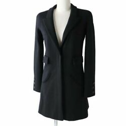 Previously Owned Women's With Coco Mark Button Wool No.6048