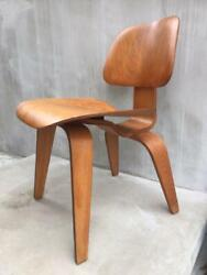 Eames Herman Miller Zenith Dcw 1940and039s Vintage Chair 5-2-5 Bolt