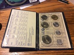 Coins Of Israel Official Uncirculated Set 1979 In Original Case Trade Coins