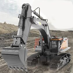 Huina 114 Rc Excavator 2.4ghz Remote Control Construction Tractor Digger Car Up