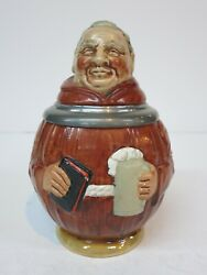 Figural Character Pottery Beer Stein Monk монах Mönch Sinn Moine Hand Painted