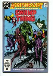 Swamp Thing 50-1986--1st Justice League Dark- Nice Copy 1986