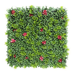 40x 40artificial 3d 01mix Ivy Fence Mat Wall Hedge Decor Ties Fence Panel Usa