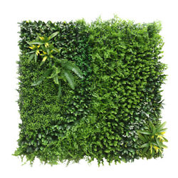 40x 40artificial 3d 03mix Ivy Fence Mat Wall Hedge Decor Ties Fence Panel Usa