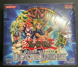 Yugioh Legacy Of Darkness Lod Sealed 36 Pack Unlimited Booster Box