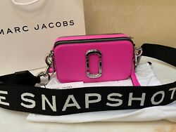 Marc Jacobs Pink Snapshot Small Women's Camera Bag Hot Pink 100% NWT $220.00