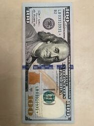 2009a 100 Star Note Low Serial Number