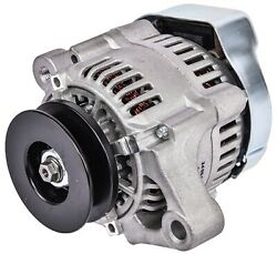 Jegs 10135 1-wire Micro Mini Gm Alternator 55 Amp 12-volt Single One Groove V-be