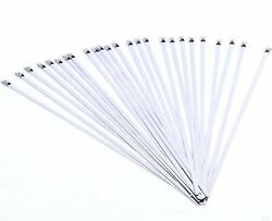 25 Pcs Stainless Self Locking Ball Lock Cable Ties 12 X 3/16 00mm Amarine Made