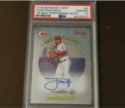Jonathan India Rookie Auto Psa 10 Bowman's Best'98 Best Performers 40/100