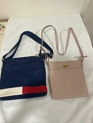 2 womens Tommy Hilfiger crossbody bags brand new free shipping $25.00