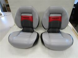 Tracker 171160 Centric Jump Seat Pair Of 2 20 W X 23 H X 21 1/2 D Boat