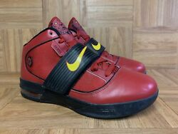 Rare🔥 Nike Zoom Soldier Iv Fairfax Varsity Red Sample Pe Exclusive 9 Gold Black
