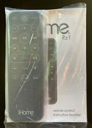 Brand New In Packaging Ihome Rz1 Remote Control For Ip49 Ip90 Clock Radio Alarm