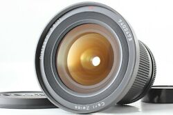 [mint] Contax Carl Zeiss Distagon T 21mm F2.8 Mmj For C/y From Japan