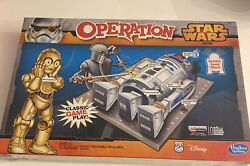 Star Wars Operation Game - 2014 - R2d2 And C3po 100 Complete New/sealed