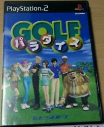 Ps2 Golf Paradise Used Japanese Ver. Japan Import