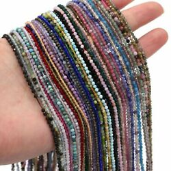 Natural Stone Bead Section Amethysts Women Jewelry Making Diy Bracelet Necklace