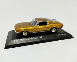 Minichamps 1/43 - Ford Mustang Fastback 2+2 Lime Gold