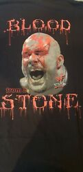Original Stone Cold Steve Austin Blood From A Stone Wwf Not Wwe T-shirt Size 2