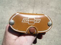 Vintage 1960' S Chevrolet Accessories Nos Promo Auto Key Holder Old Gm Part Fob