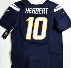 Nwt-pro-48 Justin Herbert San Diego Chargers Authentic Licensed Nfl Nike Jersey
