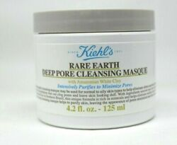 Kiehland039s Rare Earth Deep Pore Cleansing Masque 4.2oz/125ml. New And Unbox Sealed
