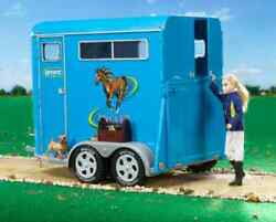 Breyer Traditional Series 2617 Two Horse Trailer - New In Box