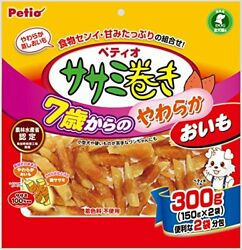 Petio Petio Soft Sweet Potatoes Chicken 300g From The Snack White Meat Winding