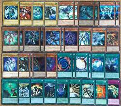 Yu-gi-oh Built E-d-m Mixed All Hero Deck With Ex Faris Ink Leasing Flame Wingman