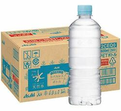 Asahi Soft Drinks Delicious Water Natural Water Label-less Bottle Pet600ml × 24