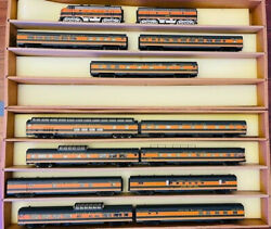 Proto 2000 Diesel Emd F7a-b Set Powered W/sound And Dcc W//11 Ep Cars