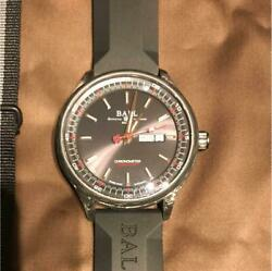 Ball Watch Volcano New Unused Item Menand039s Watch With Box Warranty Card Etc. F/s