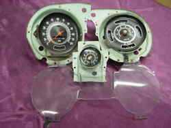 Chevy Chevelle 1969 Dash Cluster Parts W/ Tach And Clock Option