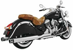 Freedom Performance True Dual Header For Indian Vintage 2014-2020 Chrome