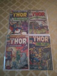 Journey Into Mystery Thor Key Comic Lot First App Of Ego, Magneto Vs Thor