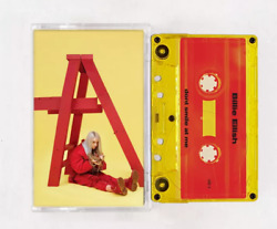 Billie Eilish Dont Smile At Me Exclusive Limited Red Inside Yellow Cassette Tape