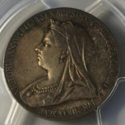 As Long One Point 1897 Tone Queen Victoria United Kingdom Great Britain Silver