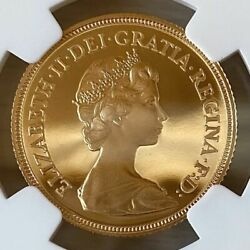 Rare 1984 Uk Gold Coin Pf69 1sov Sovereign Ultra Cameo Elizabeth St. George's