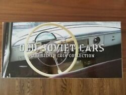 Old Coins Rare Coin 2010 Niue Island 2 Former Soviet Cars Silver Set Colored