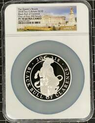 First 200 Sheets United Kingdom 2018 Queen's Beast Black Bull Of Clarence