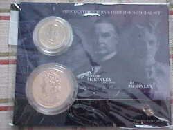 2013 William And Ida Mckinley Presidential Dollar Coin///first Spouse Medal Set