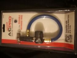 Certified Ac Pro Auto Air Conditioning Reusable Recharge Hose R-134a