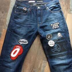 Mastermind Japan 2011 Jeans Over The Stripes Colab 34 X 34 Mindblow Collection